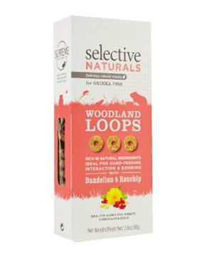 Supreme Selective snack Naturals Woodland Loops 60