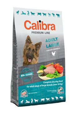 Calibra Dog Premium Adult Large 12kg + 3kg zdarma
