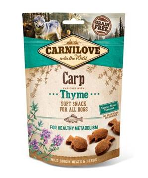 Carnilove Dog Semi Moist Snack Carp&Thyme 200g