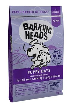 BARKING HEADS Puppy Days NEW 6kg