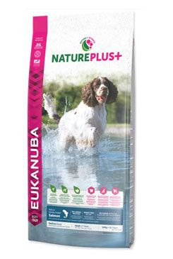 Eukanuba Dog Nature Plus+ Adult Med. froz Salm 10kg