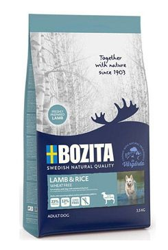 Bozita DOG Lamb & Rice Wheat Free 3,5kg