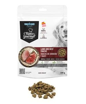 Tapas Gourmet Snack for dog Lamb and Beef 190g