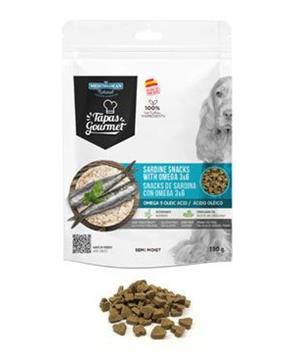 Tapas Gourmet Snack for dog Sardine with Omega3,6 190g
