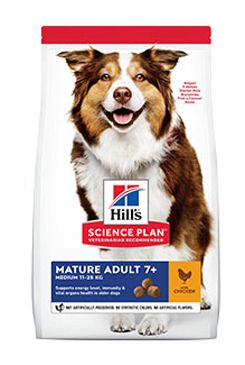 Hill's Can.Dry SP Mature Adult 7+ Medium Chicken 14kg