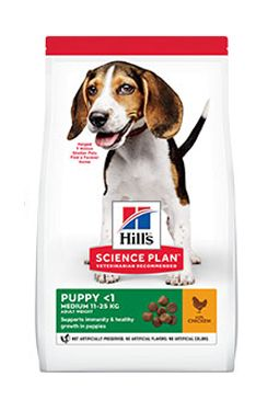 Hill's Can.Dry SP Puppy Medium Chicken 18kg