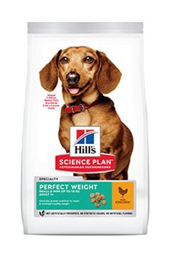 Hill's Can.Dry SP Perf.Weight Adult Small Chicken 6kg