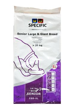 Specific CGD-XL Senior Large & Giant Breed 14kg pes