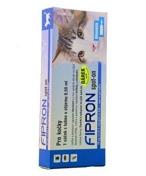 Fipron 50mg Spot-On Cat sol 1x0,5ml