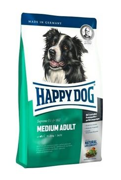 Happy Dog Supreme  Fit&Well Adult Medium 12.5kg