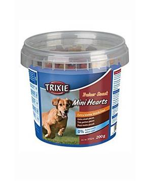 Trixie Trainer snack Mini Hearts kuře/jeh/losos 200g