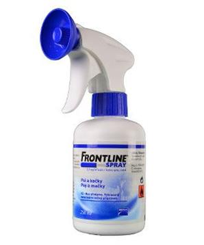 MERIAL Frontline Antiparazitní spray 250ml