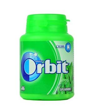 Žvýkačka Orbit dražé Spearmint doza 46ks