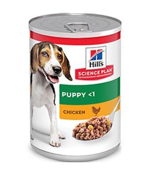 Hill's Can. konz. SP Puppy Chicken 370g